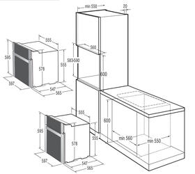 Электрический духовой шкаф Gorenje BO 75 SY2B