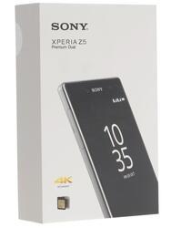 """5.5"""" Смартфон Sony XPERIA Z5 Premium Dual 32 Гб серебристый"""