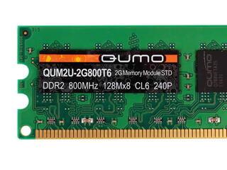 Оперативная память Qumo [QUM2U-2G800T6] 2 ГБ