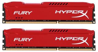 Оперативная память Kingston HyperX FURY Red Series [HX316C10FRK2/16] 16 Гб