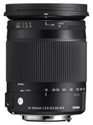 Объектив Sigma AF 18-300mm F3.5-6.3 DC Macro OS HSM Contemporary