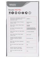 "4"" Смартфон Ginzzu RS71D 8 ГБ черный"