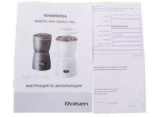 Кофемолка Rolsen RCG-150L черный