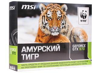 Видеокарта MSI GeForce GTX 970 TIGER WWF [GTX 970 4GD5T OC]
