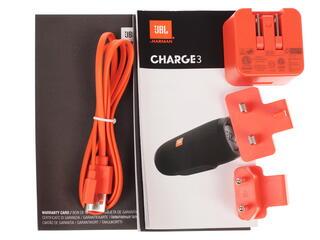 Портативная колонка JBL Charge 3 серый