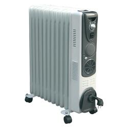 Масляный радиатор VES 9 секц. TRG9 GP турбо белый