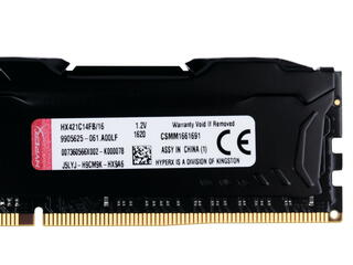 Оперативная память Kingston HyperX FURY [HX421C14FB/16] 16 ГБ