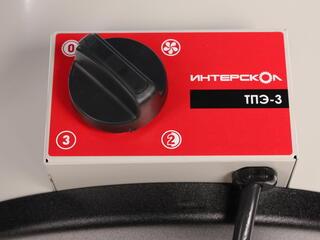 Тепловая пушка электрическая Интерскол ТПЭ-3