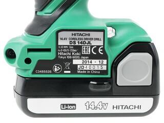 Шуруповерт Hitachi DS14DJL-RC