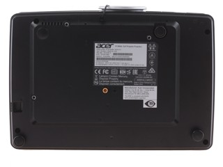 Проектор Acer P1385W TCO черный
