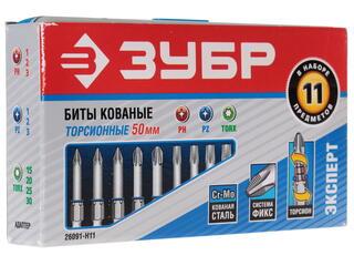 Набор бит ЗУБР 26091-H11