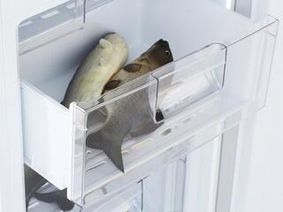 Холодильник с морозильником LG GA-B409SQCL белый