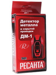 Детектор металлов Ресанта ДМ-1