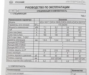 Сварочный аппарат Интерскол ИСА-160/7.1