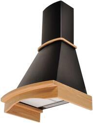 Вытяжка каминная Pyramida R 60 BLACK/U черный