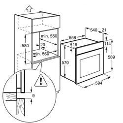 Электрический духовой шкаф ZANUSSI OPZB4230X
