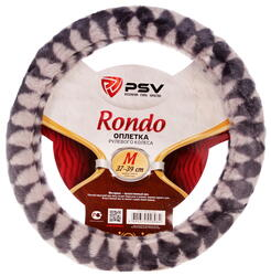 Оплетка на руль PSV RONDO серый