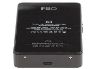 Hi-Fi плеер Fiio X3 II черный