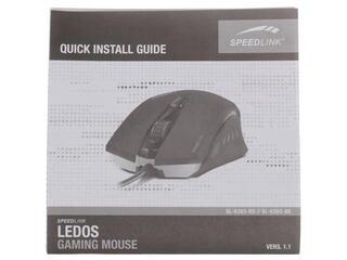 Мышь проводная Speedlink Ledos