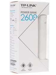 Портативный аккумулятор TP-LINK TL-PB2600 белый