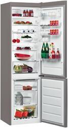 Холодильник с морозильником WHIRLPOOL BSNF 9452 OX серебристый
