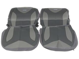 Чехлы на сиденье AUTOPROFI MATRIX MTX-1105G серый
