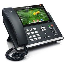 IP-телефон Yealink SIP-T48G-Skype черный