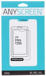 Пленка защитная для планшета Irbis TZ50