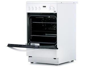 Электрическая плита ZANUSSI ZCV9553H1W белый, черный