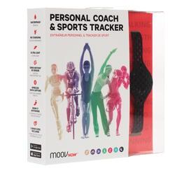 Фитнес-браслет Moov Now Personal Coach and Sports Tracker черный