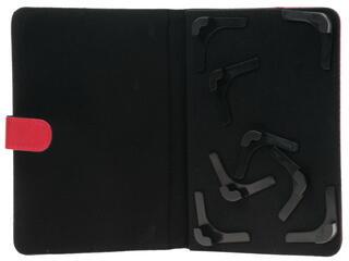 """Чехол-книжка для планшета универсальный 7""""  красный"""