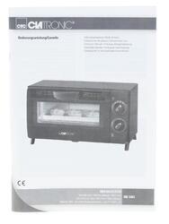 Электропечь Clatronic MB 3463 черный