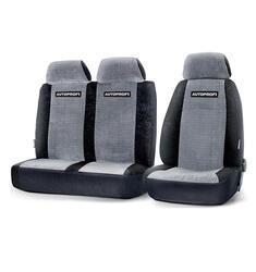 Чехлы на сиденье AUTOPROFI GAZ-002 BK/GY черный