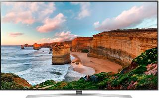 "86"" (218 см)  LED-телевизор LG 86UH955V серебристый"