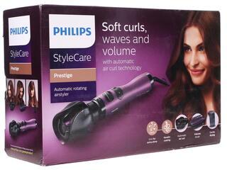 Фен-щетка Philips HP 8668 фиолетовый