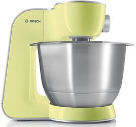 Кухонный комбайн Bosch MUM 54620 серебристый, красный
