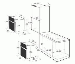 Электрический духовой шкаф Gorenje BO 71 SY2W