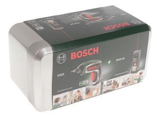 Комплект Bosch PLR 15 + IXO 4