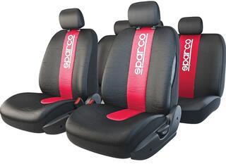 Чехлы на сиденье AUTOPROFI SPARCO SPC/RCN-1105 черный