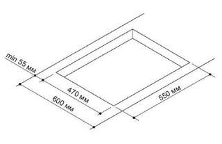 Газовая варочная поверхность Pyramida PFX 644 INOX