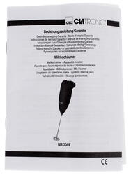 Вспениватель молока Clatronic MS 3089