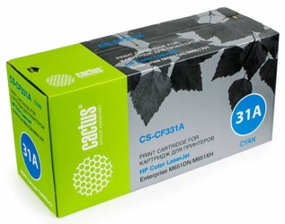 Картридж лазерный Cactus CS-CF331A