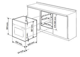 Газовый духовой шкаф HOTPOINT-ARISTON 7OFH G (WH) RU/HA