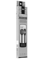 Кабель Remax Breathe Lighting USB - Lightning 8-pin черный