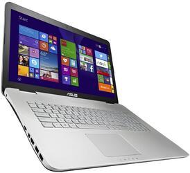 """17.3"""" Ноутбук Asus N751JX-T7215T серый"""