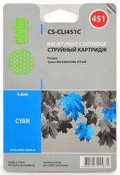 Картридж струйный Cactus CS-CLI451C