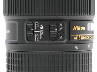 Объектив Nikon AF-S 24-70mm F2.8 E ED VR Nikkor