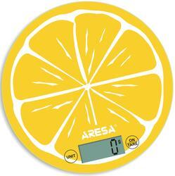 Кухонные весы Aresa SK-412 желтый