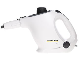 Пароочиститель Karcher SC 1 Premium + Floorkit белый