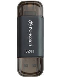 Память OTG USB Flash Transcend JetDrive Go 300  32 Гб